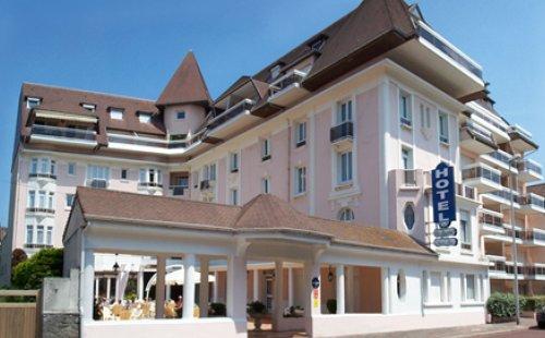 H tel bristol h tel le touquet information et for Hotel avec piscine le touquet